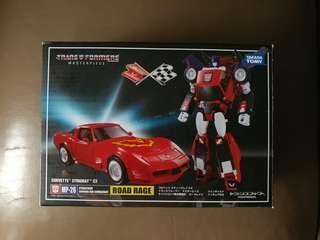全新 變形金剛 Takara Tomy Transformer Masterpiece MP 26 Road Rage