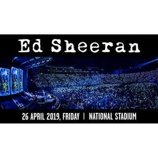 Ed Sheeran 2019 concert in Singapore