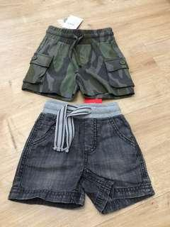🚚 Fox baby boy's shorts