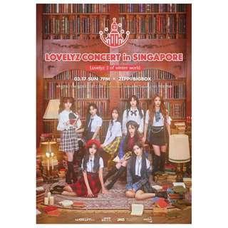 Lovelyz concert in Singapore 2019