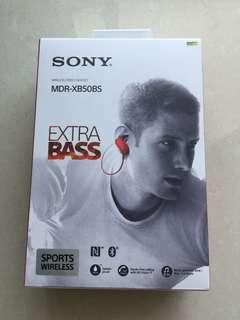 🚚 Sony MDR-XB50BS (Red)
