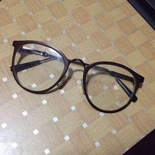 Berrybenka Brown Glasses