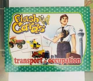 🚚 Flash cards - Transport & Occupation