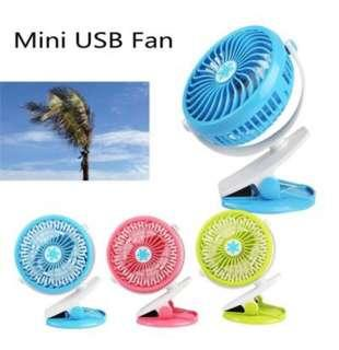 360 Degree Baby Charging Fan USB Clip Fan