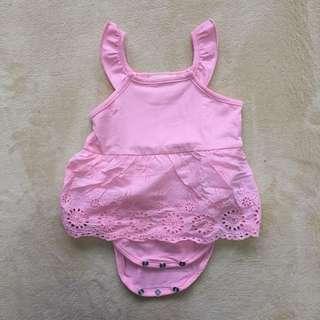 🚚 女嬰小洋裝包屁衣