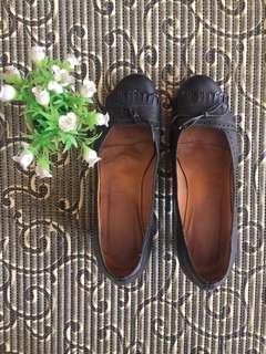 Black working shoes (medium heels)