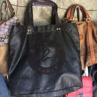 Agnes B. Denim Bag