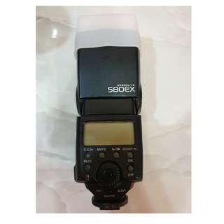 CANON 580EX Flash Light with Soft Filter