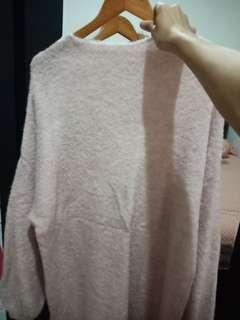 Sweater stradivarius soft pink