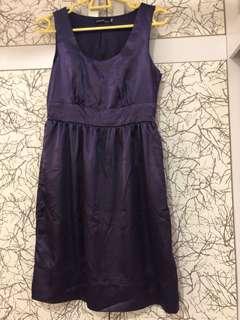 Working dress/ purple dress / dinner dress
