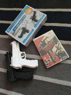 Wii game House of the Dead Overkill w pistols