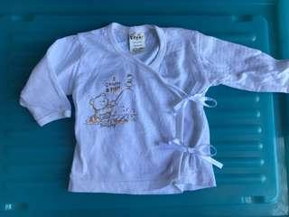 🚚 Tollyjoy 0-6m Baby tie shirt top