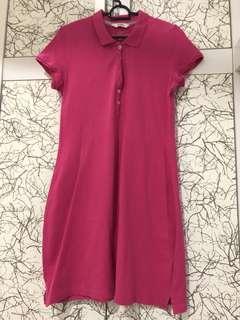 Polo Dress / pink dress