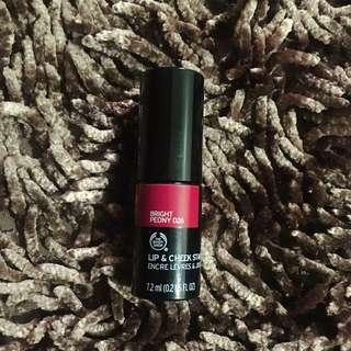 The Body Shop lipstain