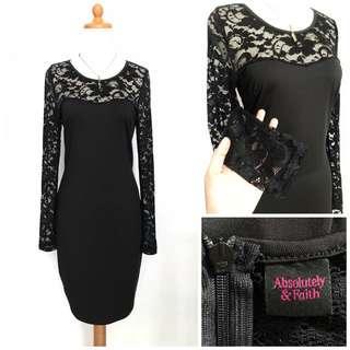Lace Midi Dress (Harga Nett)