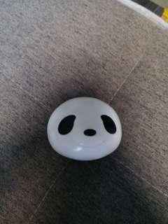熊貓 大頭 扭蛋 - 黑色