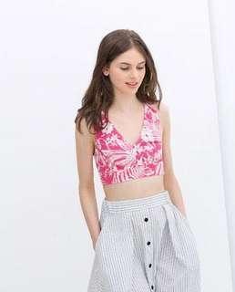 Crop Top / skirt / set wear