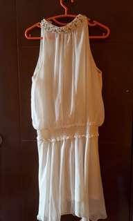 Broken White Midi Dress