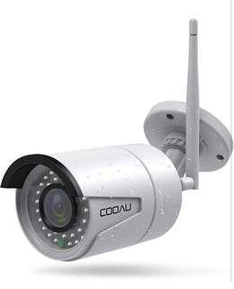 (421) COOAU Outdoor IP Camera Wifi Wireless Security Surveillance Bullet Camera System 720P