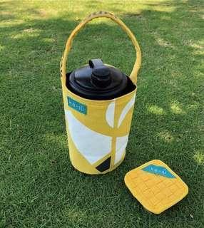 🚚 加油系列-環保飲料提袋(冰霸杯可)