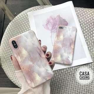 Iphone 6-XR Marble Case