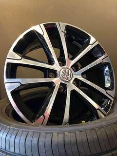 "BN Volkswagen 17"" Rims, 5x112, 17""x7"", Offset 49"