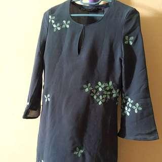 Gene Martino Baju kurung modern / chiffon / baju raya