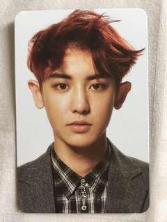 Chanyeol EXO Overdose album Photocard
