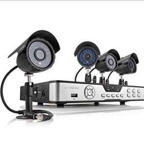 Zmodo PKD-DK4216-500GB H.264 Internet & 3G Phone Accessible 4-Channel DVR with 4 Night Vision Cameras and 500 GB HD •172•