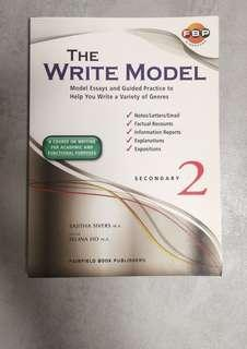 NEW! Write Model S2 Secondary 2. Fairfield Book Publishers