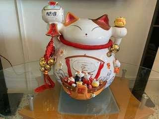 🚚 Rare Extremely Huge Large Limited Fortune Cat/Zhao Cai Mao