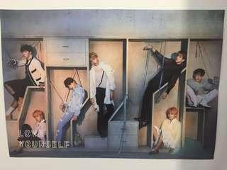 Unfolded Official BTS LY poster
