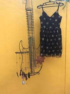 Simple sphagetti-strapped dress