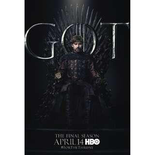 Game of Thrones Season 8 Posters part 2