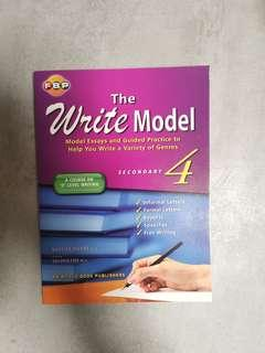 NEW! Write Model S4 Secondary 4 by Fairfield Book Publishers