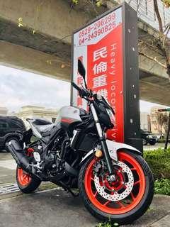 全新2018年出廠2019年樣式YAMAHA MT-03 ABS(總代理版)