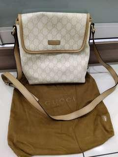 Authentic Gucci Messenger Bag, very good condition