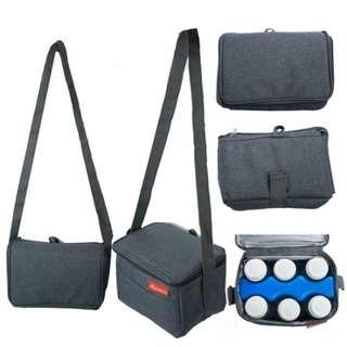 🚚 Breast milk storage cooler bag