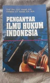 Buku Pengantar Ilmu Hukum Indonesia