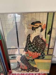 日本 拼圖畫