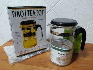 Glass Tea pot missing strainer