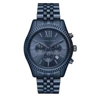 d74ab6e1353e Michael Kors Men s Lexington Blue Watch MK8480