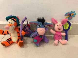 Winnie the Pooh series soft toys