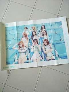 Twice Page Two Poster (Cheer Up)