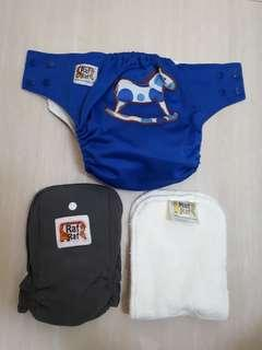 Raf Raf Baby Bamboo Cloth Diapers
