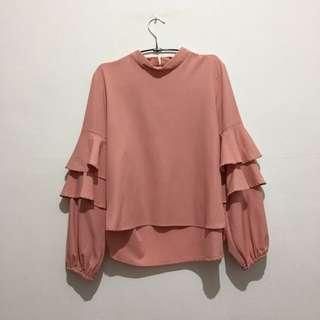 Urban Twist Pink Top