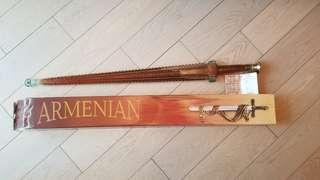 """全新 ARMENIAN Proshyan Brandy """"ASPETI"""" XO 酒 10 years 白蘭地 Sword"""
