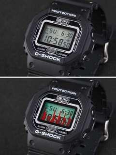 全新 海賊王 路飛 特別版 casio Dw - 5600Vt G - Shock One Piece Collaboration Quartz