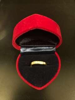 Cincin emas 916 zicon