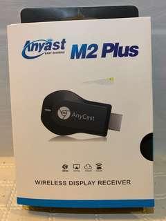 Any cast M2 plus無線HDMI同屏器